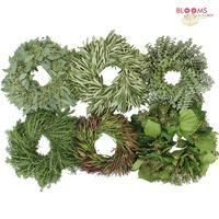 Wholesale Speciality Greens Wreath 16 Inch