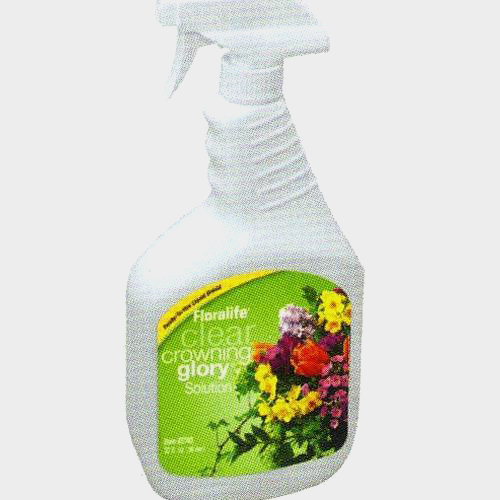 Crowning Glory Clear Solution - 32 oz Spray Bottle