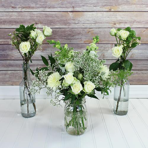 Wholesale Blooms Vintage White Wedding Wildflower Pack