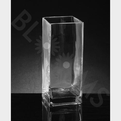 Wholesale Square Glass Vases Blooms By The Box