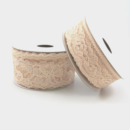 2.5 inch Ivory Lace 25 Yards