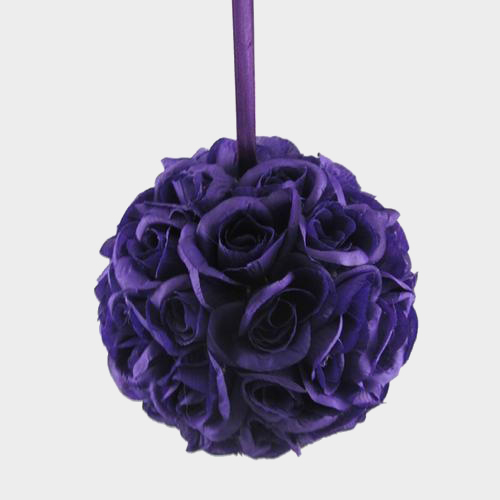 Wholesale 7 purple rose ball blooms by the box pin it on pinterest mightylinksfo