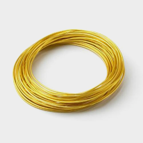 Gold Aluminum Wire- 12 Gauge 39ft Roll