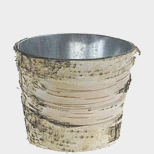 Wholesale Birch Vase W/ Zinc Liner 5.5\
