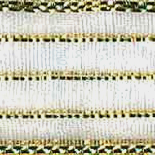 5/8 inch Harmony- #3 Gold/gold Striped 50 yards