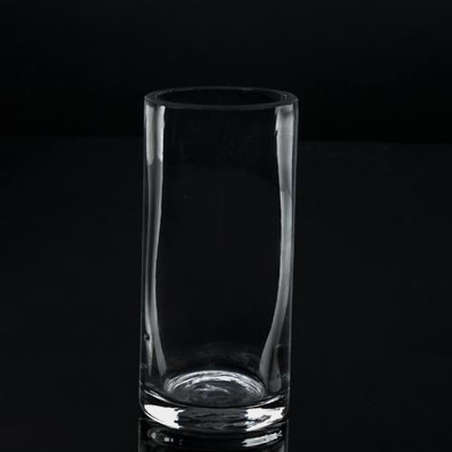 Large Cylinder Glass Vase (6