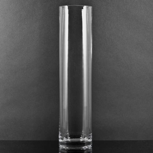 Large Cylinder Glass Vase (10