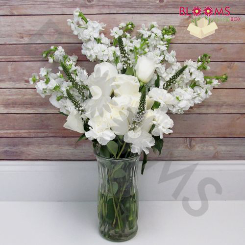 Artisan White DIY Wedding Flower Pack